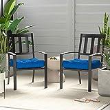 AmazonBasics Tufted Outdoor Seat Patio Cushion