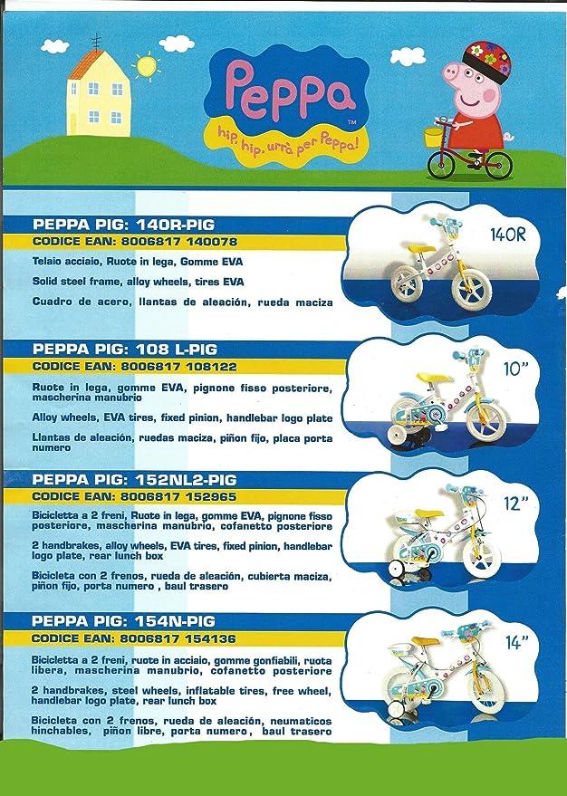 Ciclos ferrareis Bicicleta 12 niña Peppa Pig: Amazon.es: Deportes ...