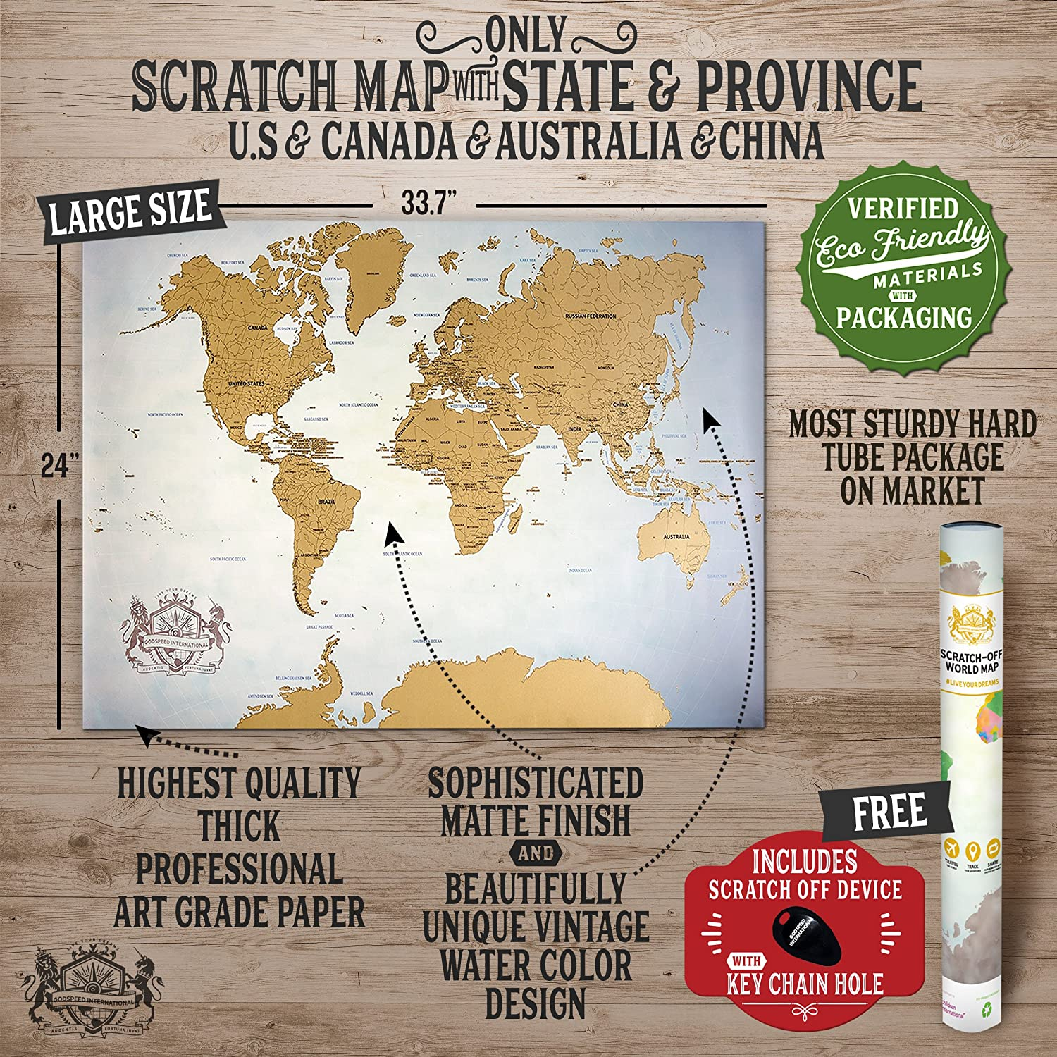 Amazon scratch off map of the world 337 x 24 world map amazon scratch off map of the world 337 x 24 world map poster state outlines of us map canada australia china travel map gift sexy gumiabroncs