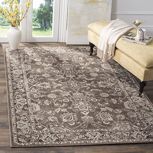 Safavieh Artisan Collection ATN324H Vintage Oriental Brown Distressed Area Rug 5 1 x 7 6