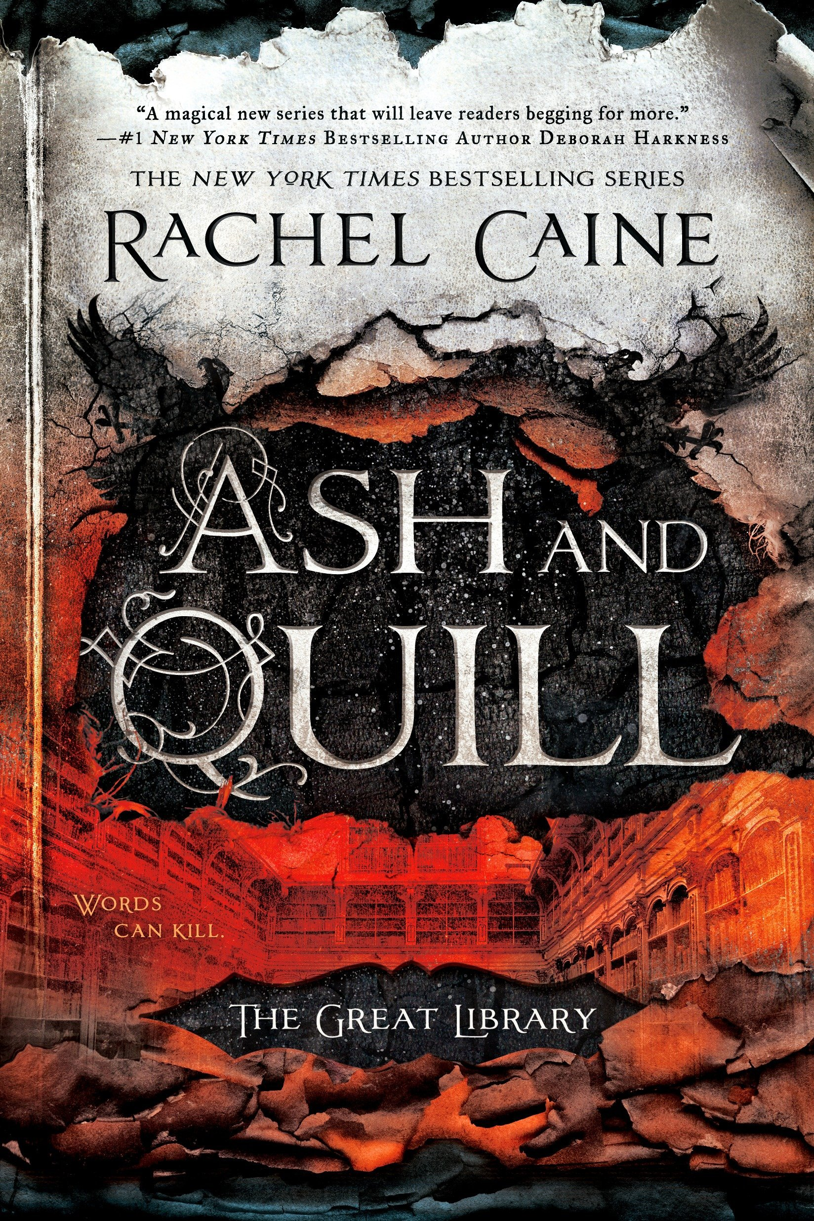 Amazon.com: Ash and Quill (The Great Library) (9780451472410): Rachel  Caine: Books