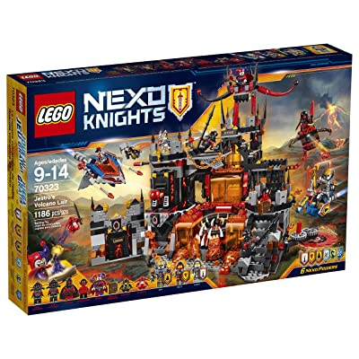 LEGO Nexo Knights 70323 Jestro's Volcano Lair Building Kit (1186 Piece): Toys & Games
