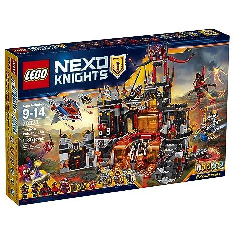 Amazon.com  LEGO Nexo Knights 70323 Jestro s Volcano Lair Building Kit  (1186 Piece)  Toys   Games 9705b2758