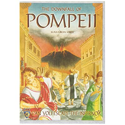 The Downfall of Pompeii Board Game: Toys & Games