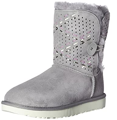 0d99872a7b9 UGG Women's Bailey Button Tehuano Winter Boot, Pencil Lead, 7 US/7 B ...