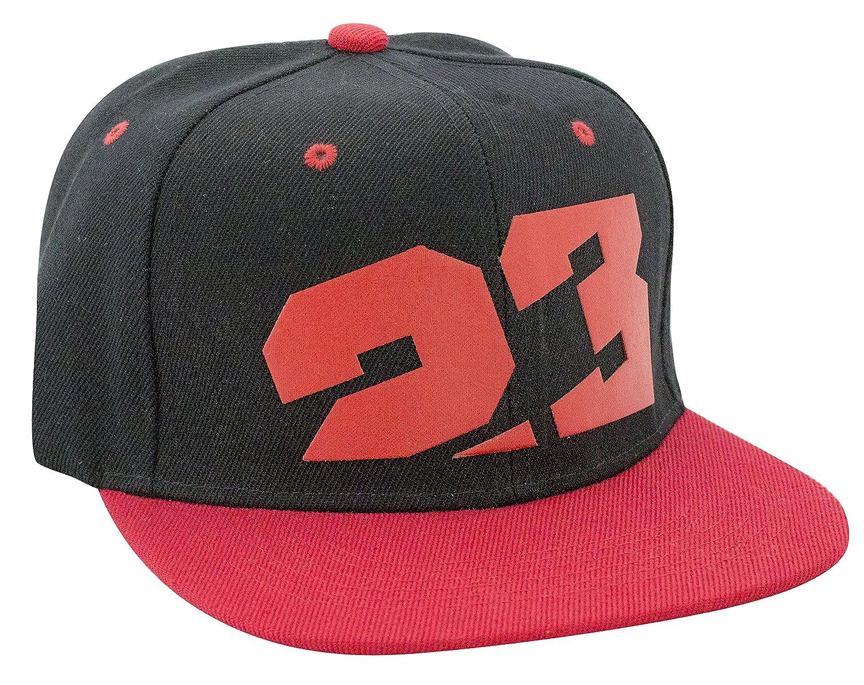23 3d mat logo in snapback baseball hat style