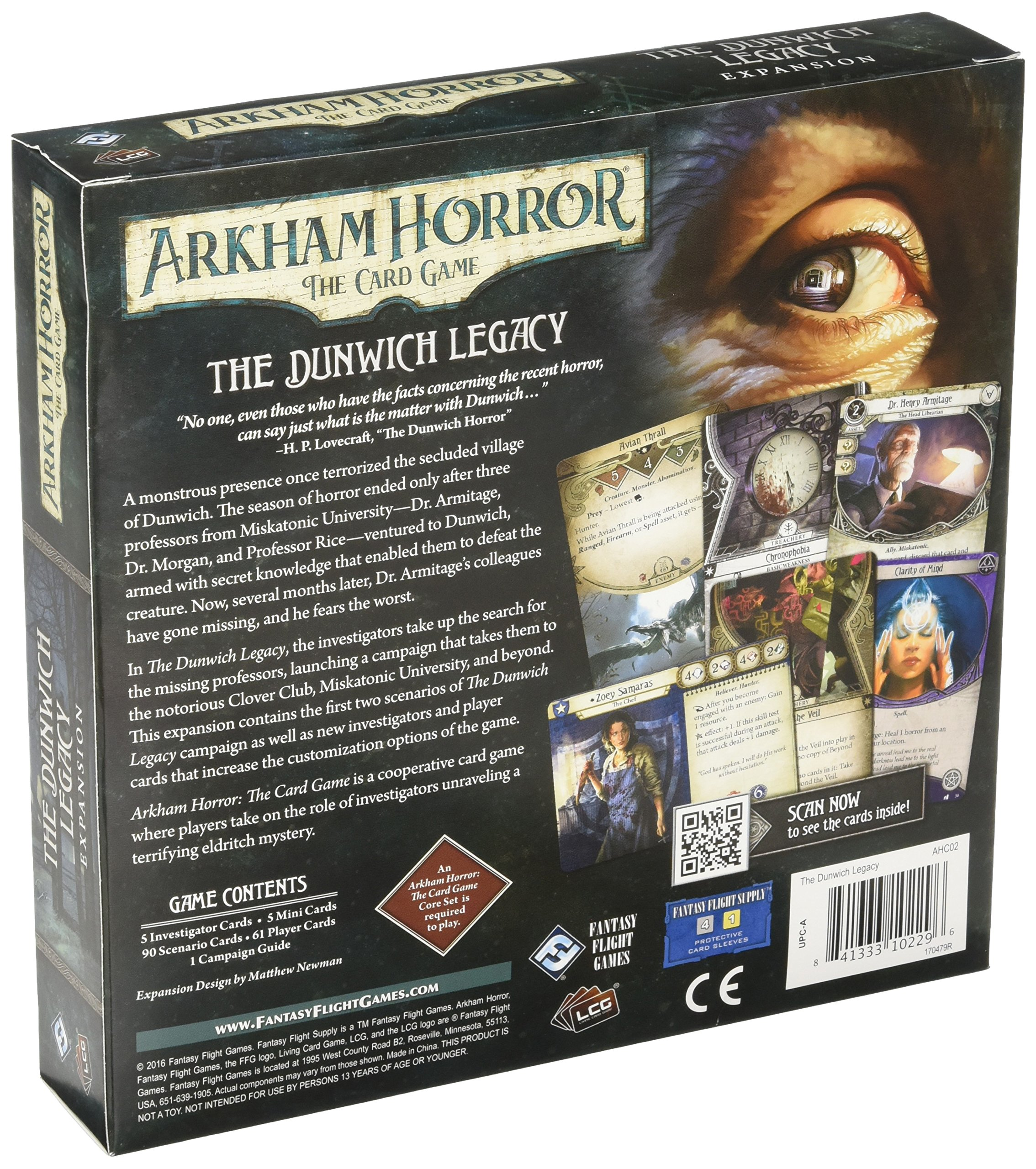 Arkham Horror: The Card Game - The Dunwich Legacy Box Expansion