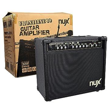 Amplificador – Amplifier de alta calidad para guitarras (S) – Marca NUX – Front
