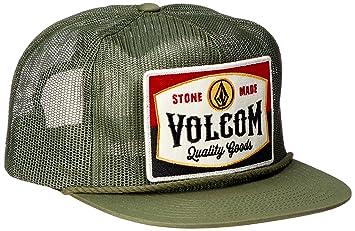 f81d9912dd0a3f Volcom Patch Panel Baseball Cap Snapback Peak Military Green One Size