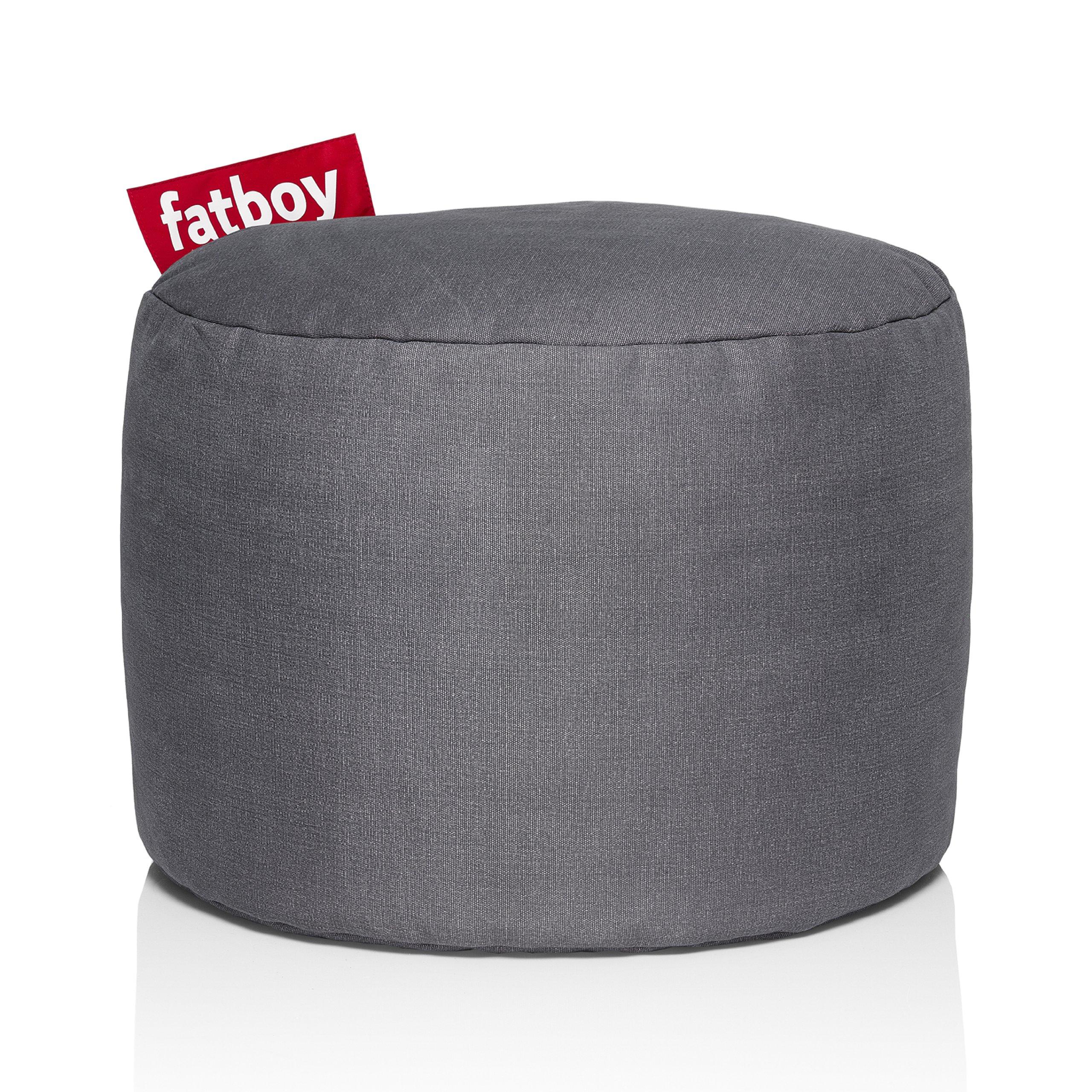 Fatboy Point Stonewashed Bean Bag, Grey