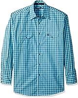 Wrangler Men's George Strait Blue Woven Shirt