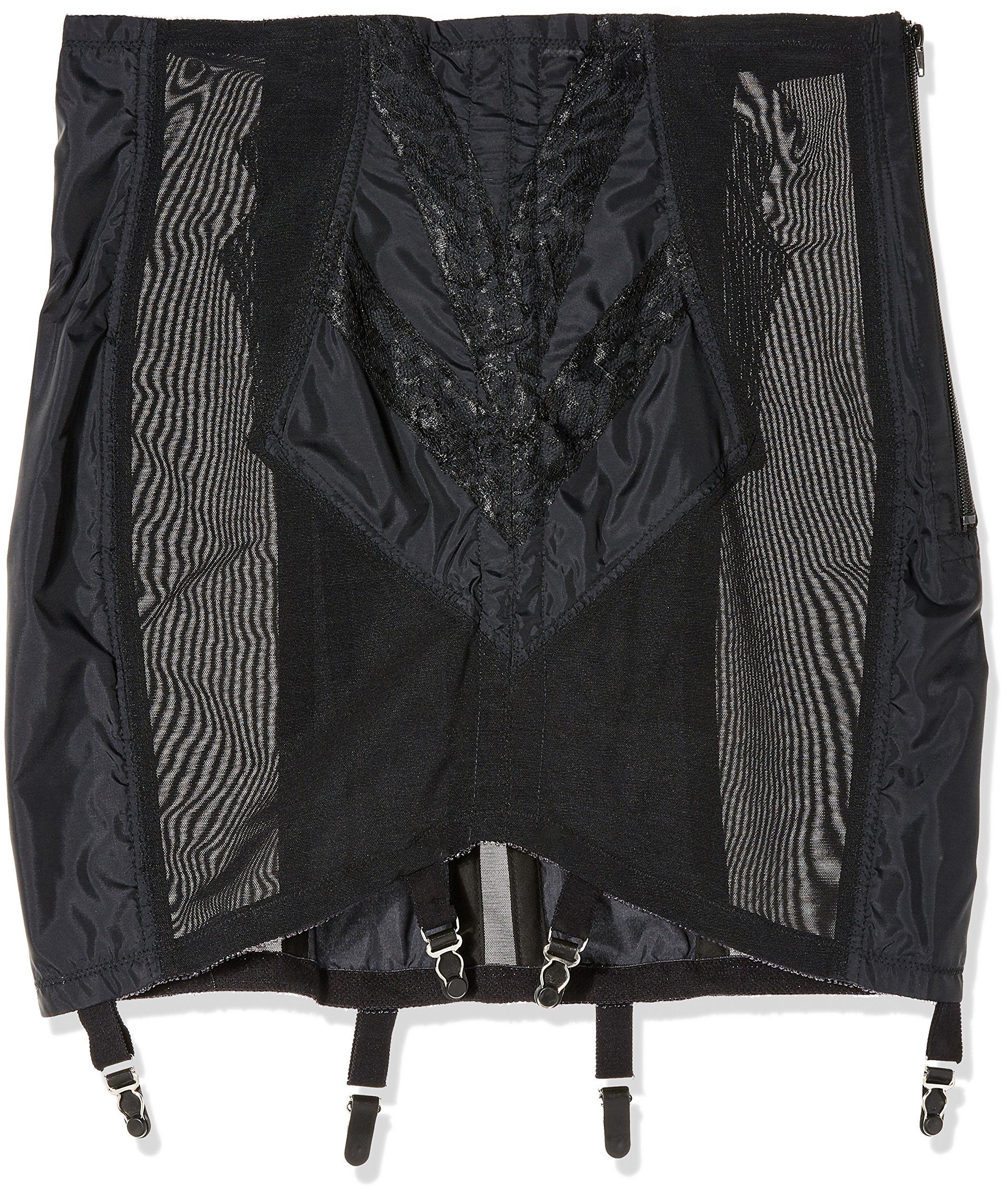 07caac61b Rago Shapewear Women s Plus-Size High Waist Open Bottom Girdle with Zipper   Amazon.ca  Clothing   Accessories