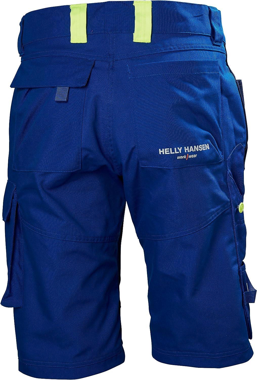Black//Grey Helly Hansen 77402/_999-C44 Work Shorts Aker Size 44 Gray