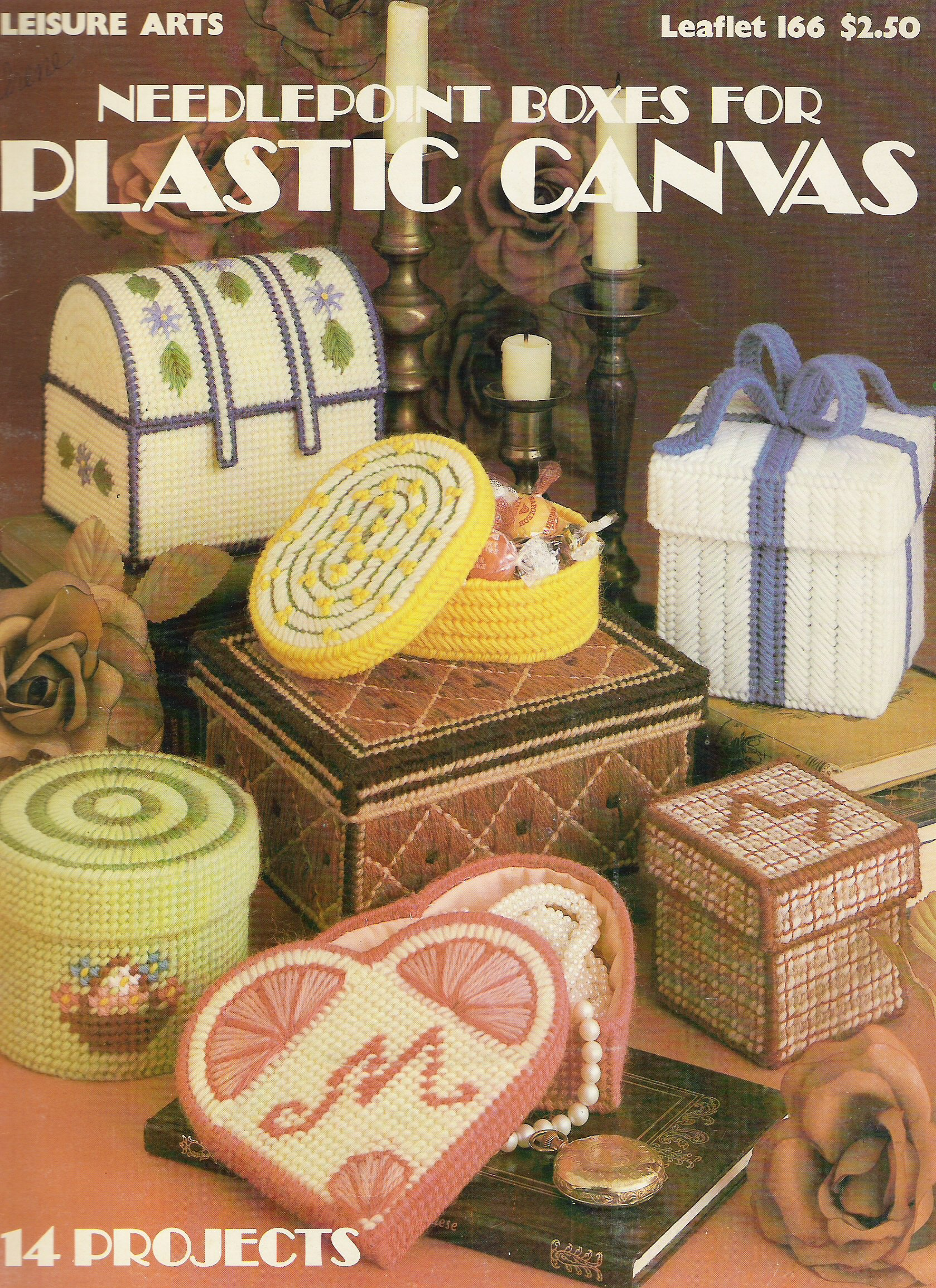 Needlepoint Boxes for Plastic Canvas (166)