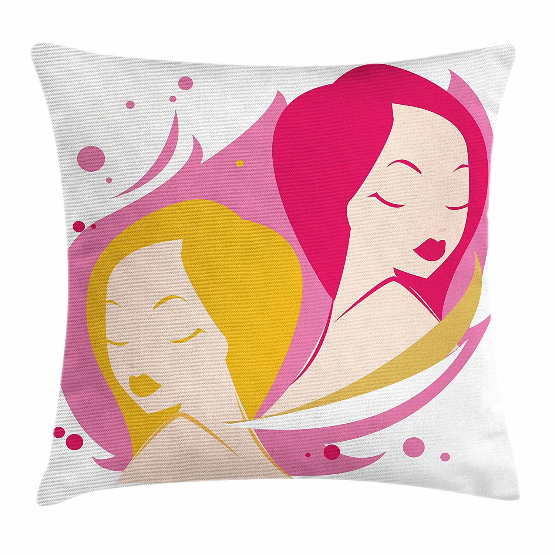 Amazon.com  Ambesonne Zodiac Gemini Throw Pillow Cushion Cover 7b60de2ef