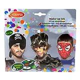good Mark Aqua Face Paint caja Niños, 1er Pack (1 x 11 unidades)