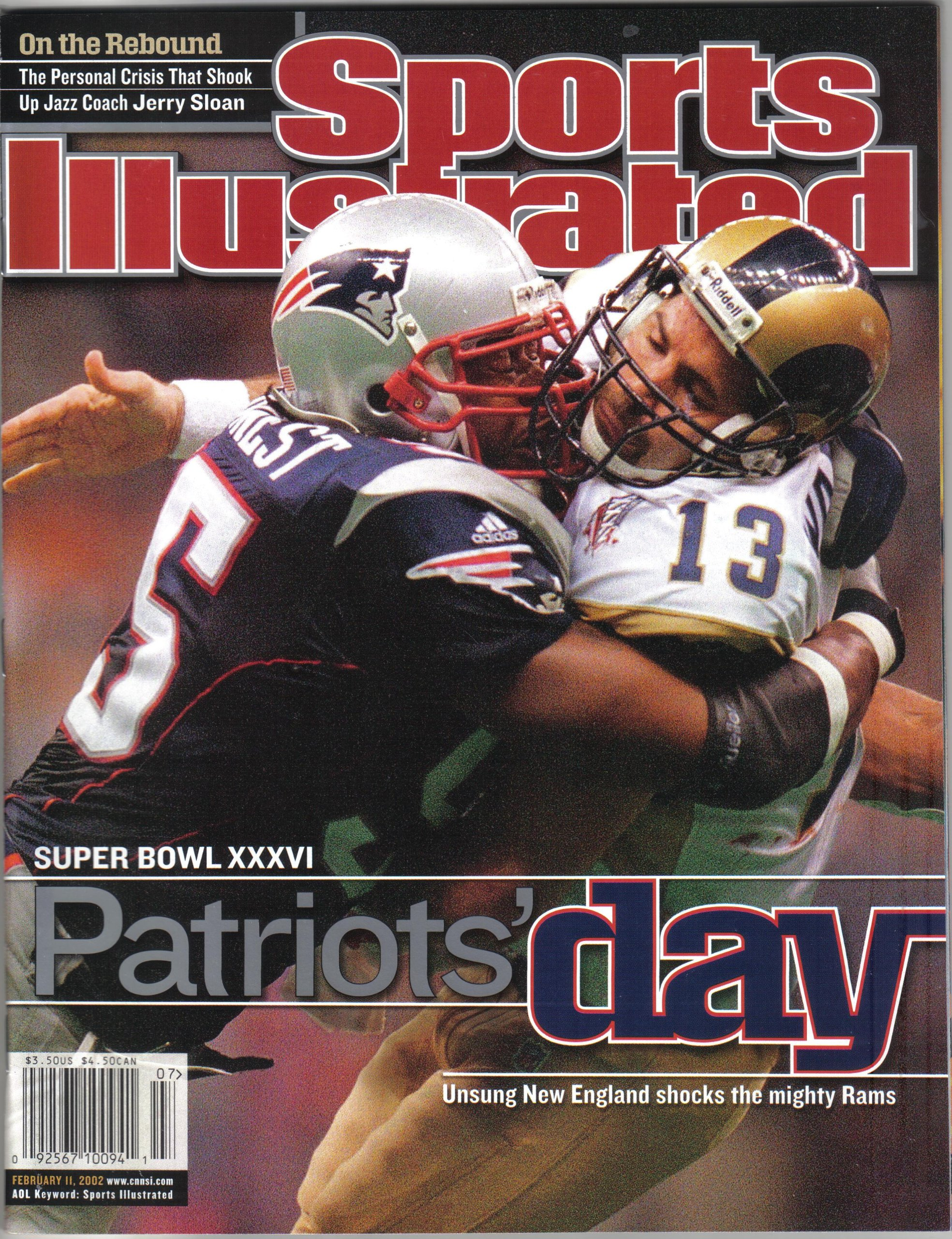 Download Sports Illustrated - February 11, 2002 (Volume 96, Number 3) (96) pdf