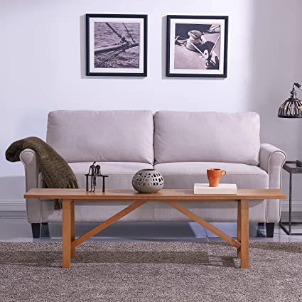Tremendous Amazon Com Harper Blvd Kirrey Long Narrow Bench Kitchen Andrewgaddart Wooden Chair Designs For Living Room Andrewgaddartcom