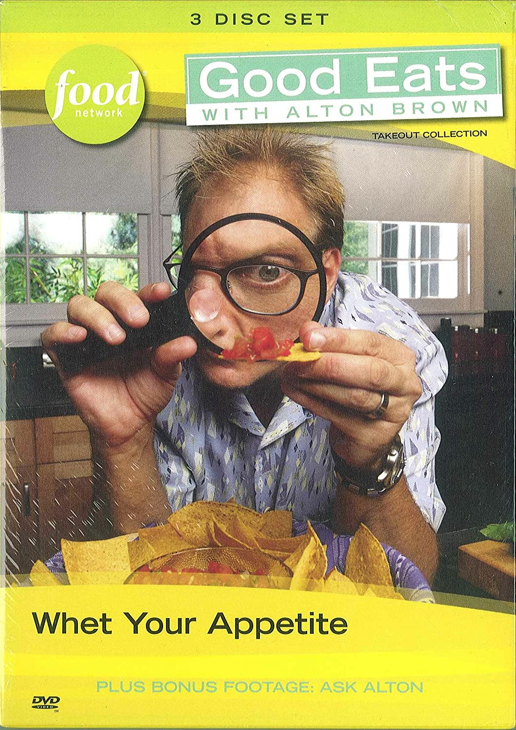 Good Eats with Alton Brown: Whet Your Appetite