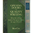 Opening Doors to Quality Writing 10-13: Ideas for writing inspired by great writers