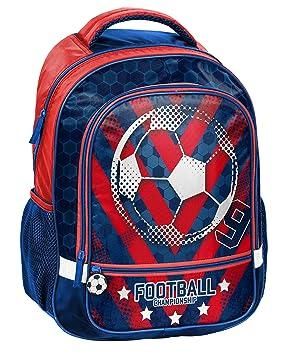 Paso Mochila - Balón de fútbol Mochila Escolar 18 - 260 FL Football: Amazon.es: Juguetes y juegos