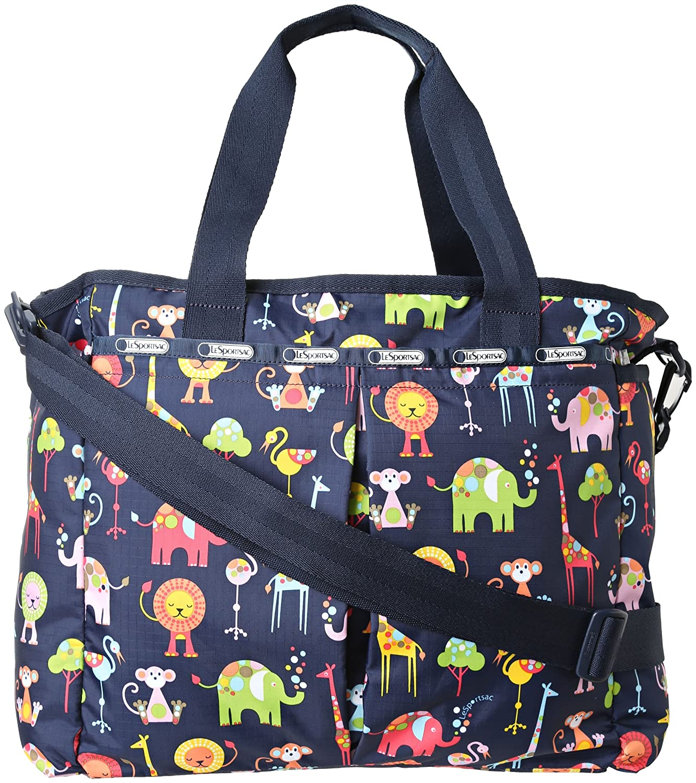 LeSportsac Ryan Baby Diaper Bag Animal Camo One Size LeSportsac Handbags
