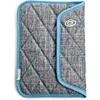 Timbuk2 Kindle Plush Sleeve with Memory Foam for impact absorption, Grey/Blue (fits Kindle Paperwhite, Kindle, and…