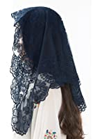 Blue Catholic Veils and Mantillas - Beautiful Lace Mantillas, Catholic Chapel Veils and Head Coverings for Mass