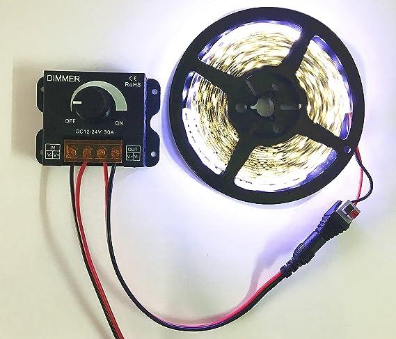 pwm dimmer 12V 24V 30A LED Dimmer Controller for Single