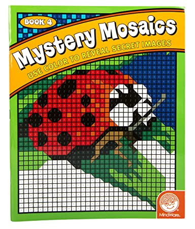 Buy Mystery Mosaics Coloring Book 4 Online at Low Prices in India ...