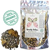 Modest Earth Beauty Detox Tea   100% ORGANIC Glowing Skin Home Routine   Liver Cleansing & Detoxifying Aid   CLEAR ACNE, Natural Wrinkle Remedy   Anti aging Antioxidant Drink   20+ SERVINGS (2.97 OZ)