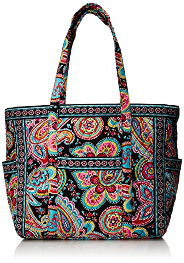 7e1b0f44fb78 Amazon.com  Vera Bradley Get Carried Away Travel Tote