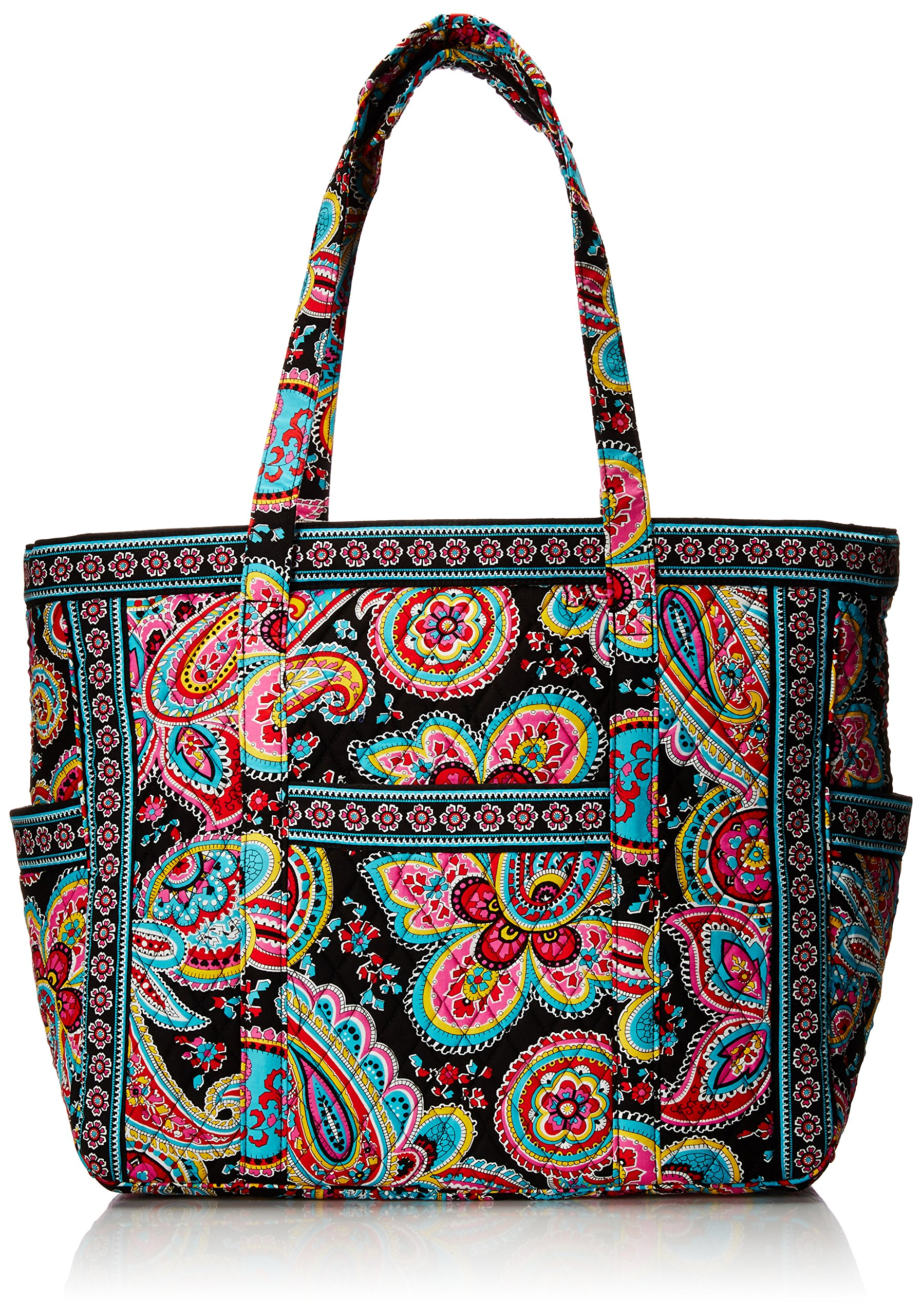Vera Bradley Get Carried Away Travel Tote, Parisian Paisley, One Size