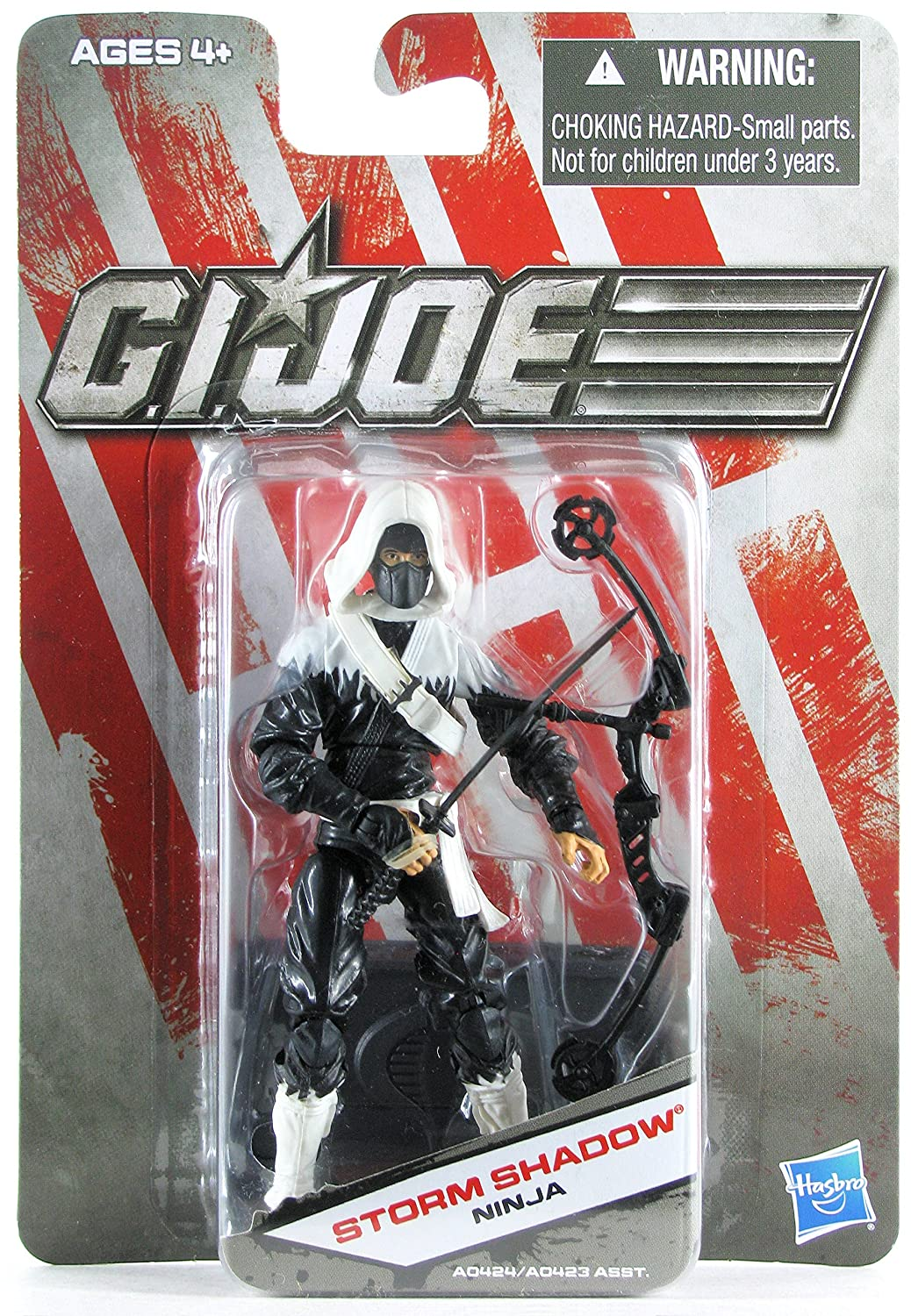G.I. Joe Exclusive Action Figure, Storm Shadow Ninja, Black ...