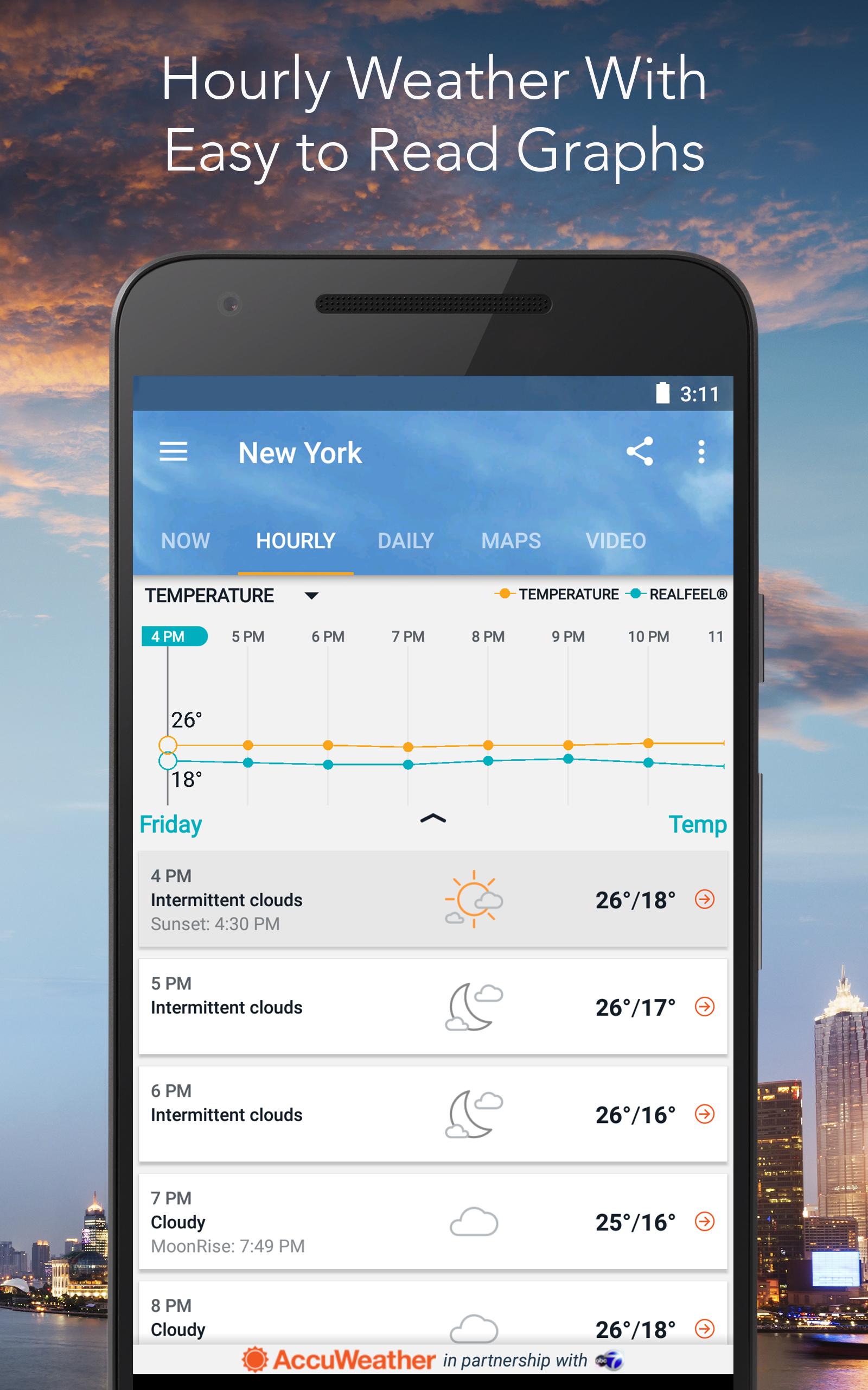 Amazon Accuweather Platinum With Superior Accuracy Appstore