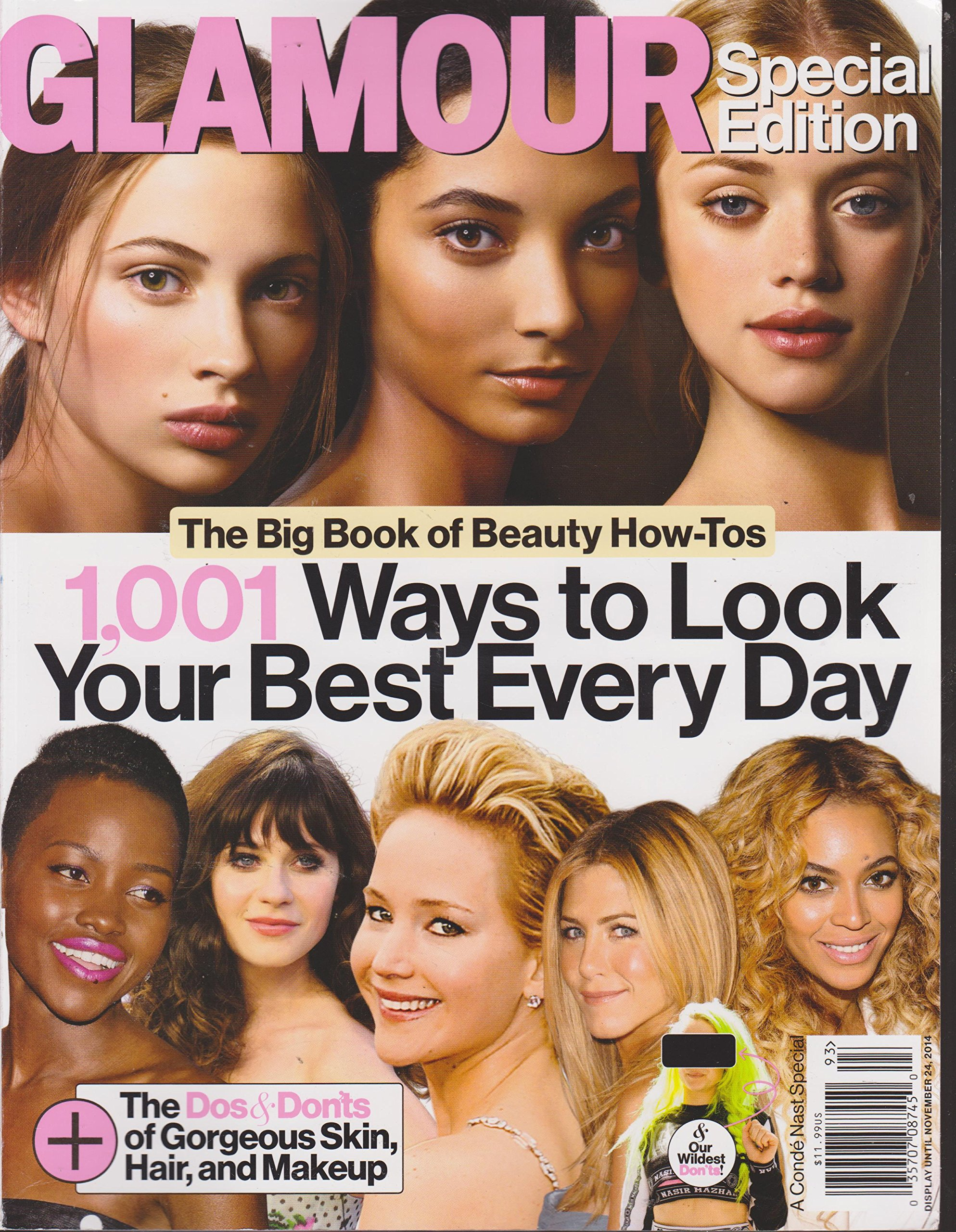 Glamour Special Edition Magazine 2014 1001 Ways to Look Your Best Every Day ebook