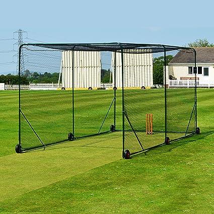 amazon com fortress mobile baseball batting cage portable rh amazon com best backyard batting cage portable outdoor batting cages