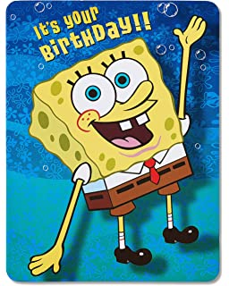 American Greetings Spongebob Squarepants Birthday Card With Music