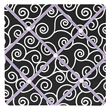 Amazon.com: Púrpura y Negro Kaylee tela Memory/Memo Foto ...