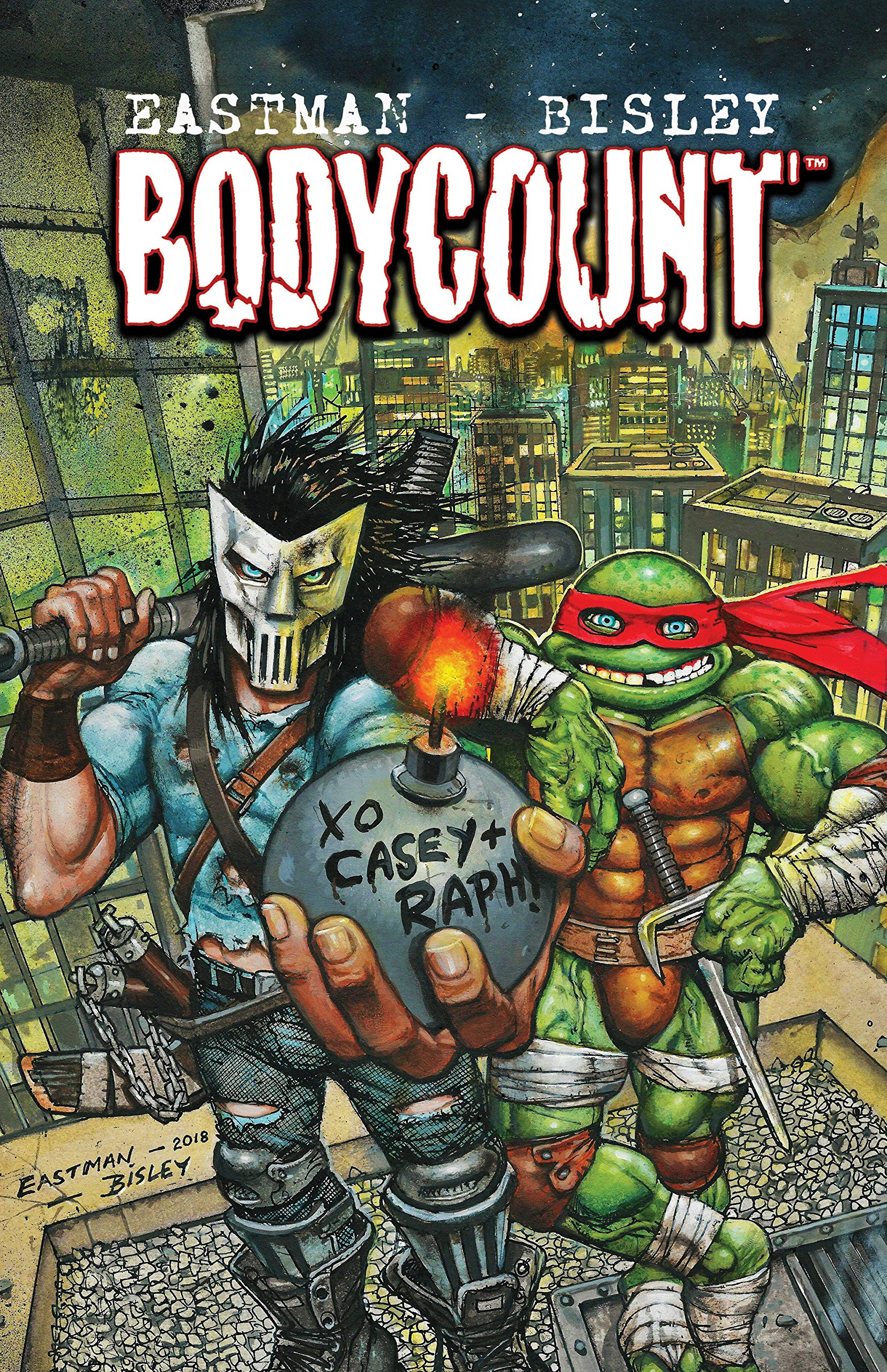 Amazon.com: Teenage Mutant Ninja Turtles: Bodycount ...