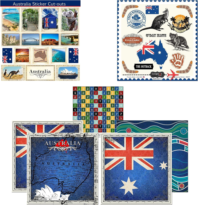 Scrapbook Customs England Adventure Scrapbook Kit