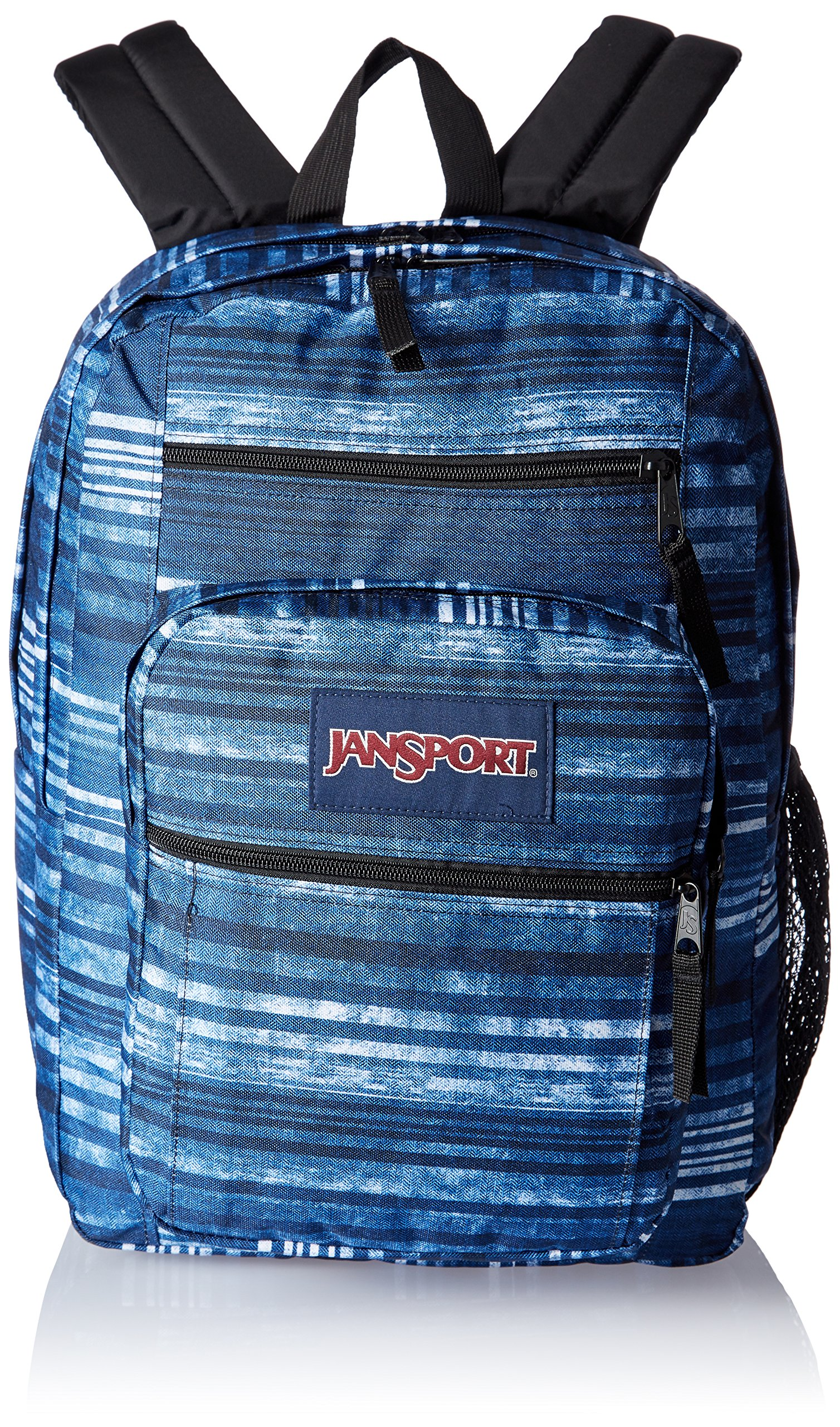 JanSport Big Student Backpack- Discontinued Colors (Multi Variegated Stripe)