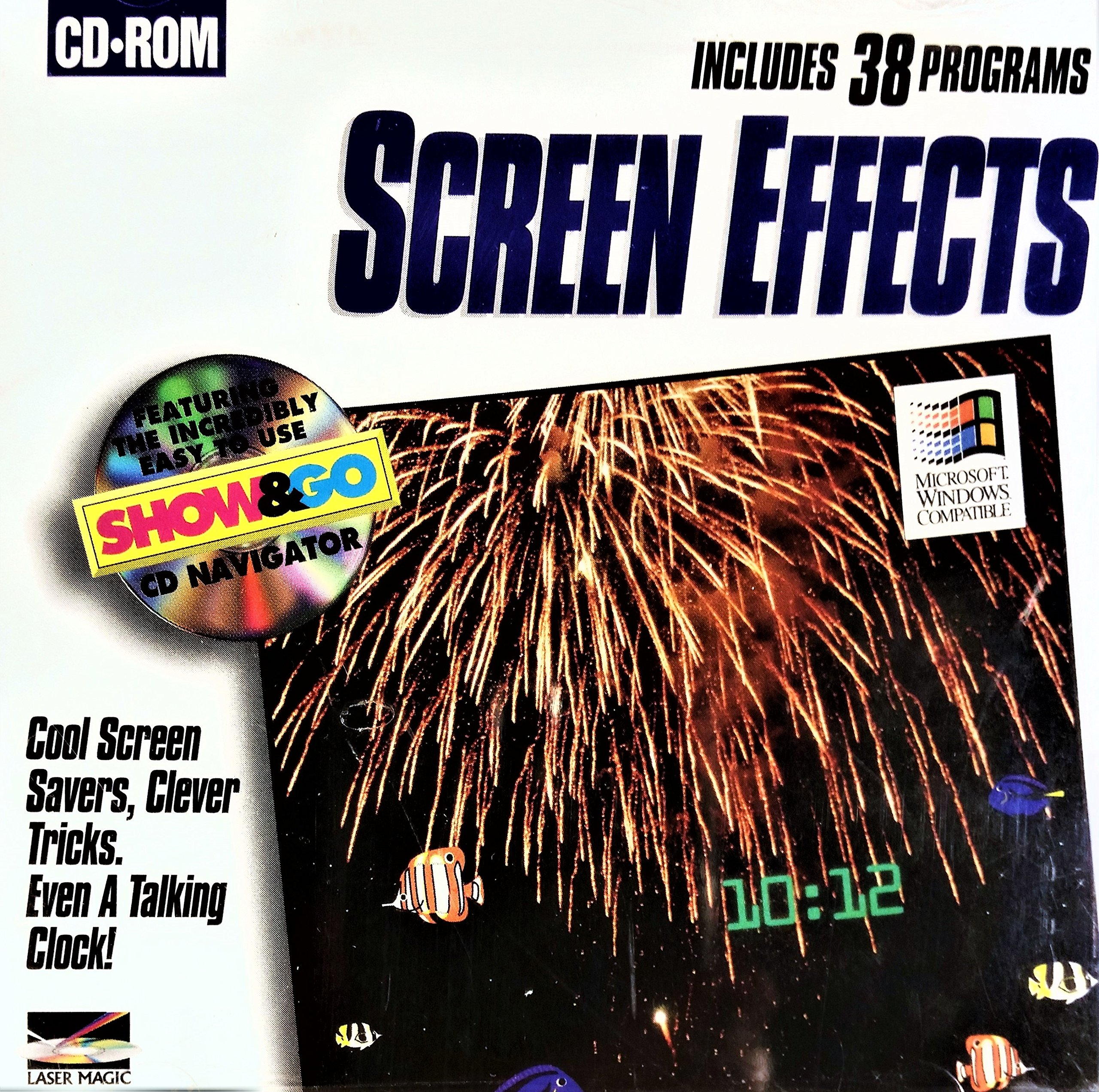 Screen Effects by Laser Magic