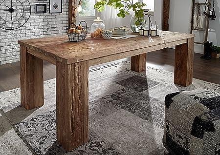 Tavolo da pranzo Rustica 220X110cm teak legno antico ...