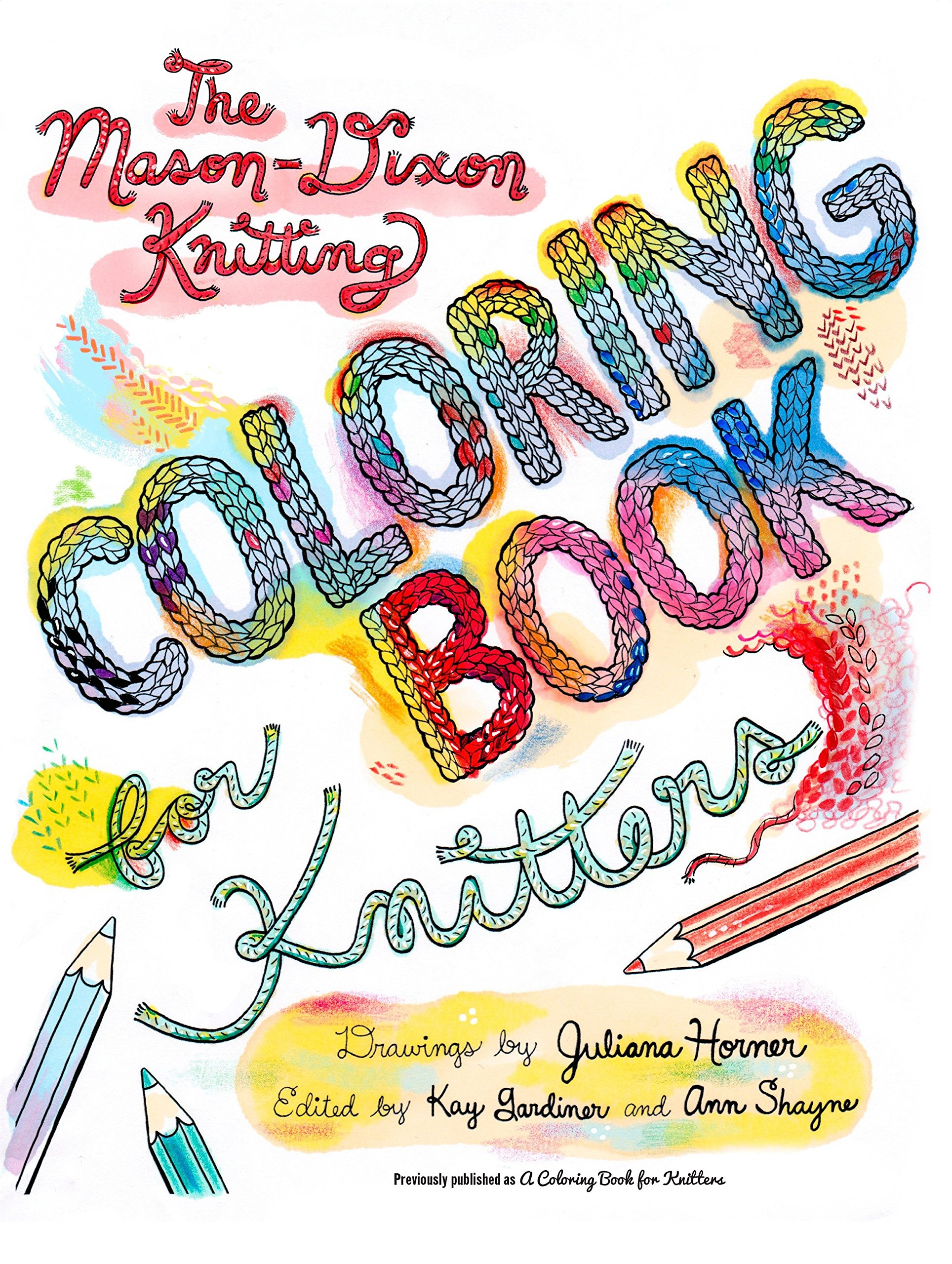 Download The Mason-Dixon Knitting Coloring Book for Knitters pdf