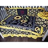 Amazon Com Little Bedding By Nojo Elephant Time 4 Piece