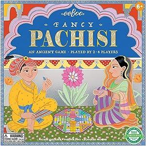 eeBoo's Fancy Pachisi Board Game