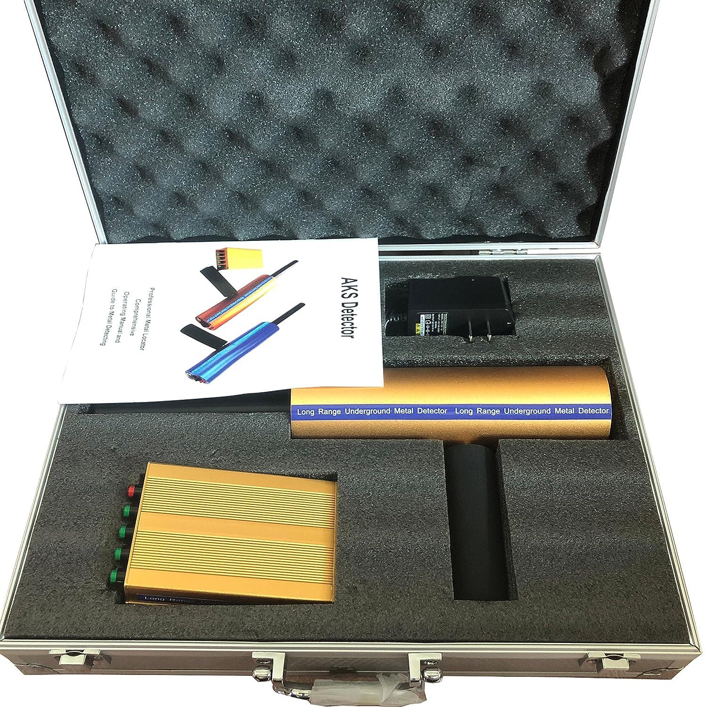 AKS 3D Detector de Metales de Largo Alcance Aks de Oro y Diamante, Detector de Metal, Detector de Oro, Detector de Metales: Amazon.es: Jardín