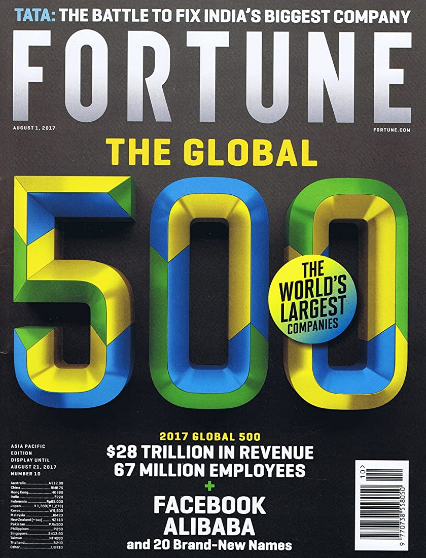 Fortune Asia Pacific [US] August 1 2017
