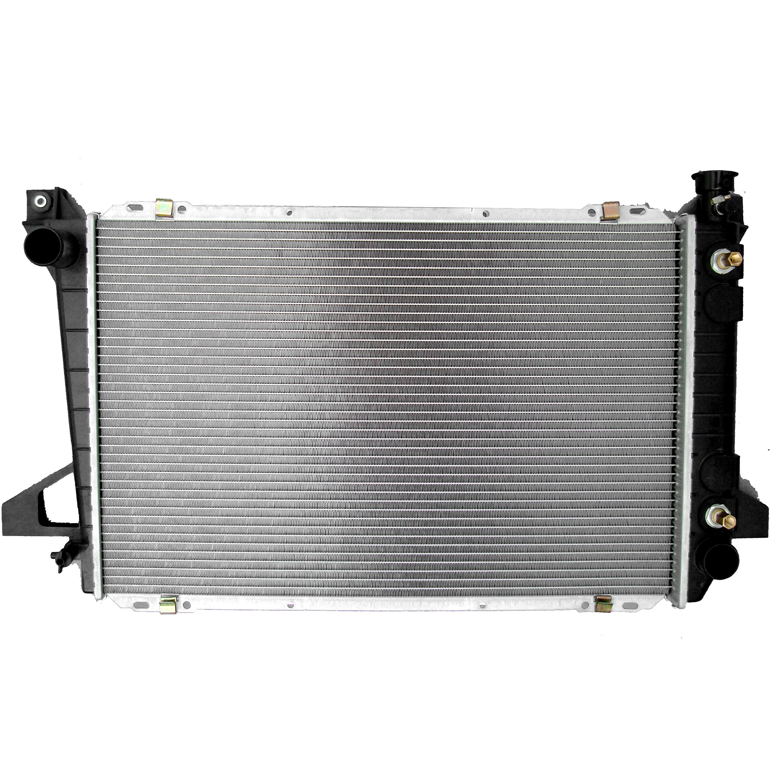 SCITOO Radiator 1452 fit 1985-1997 Ford F-150 1985-1996 Ford F-250 1985-1992 Ford Bronco 4.9L